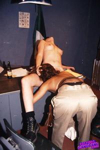 two military women fuck