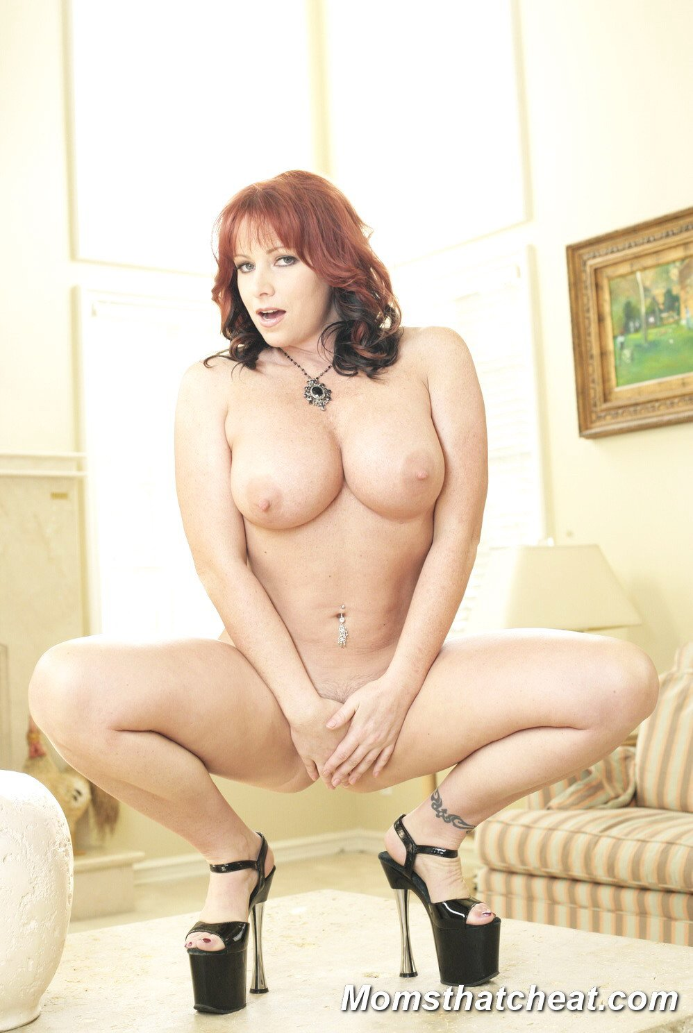 Milf Big Tits Redhead Gets Fucked